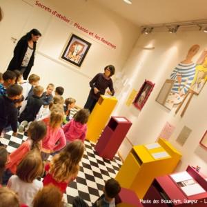atelier enfants musées des beaux arts de Quimper Macornouaille