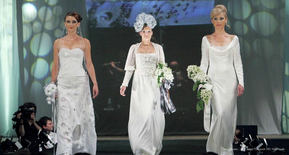 Robes de mariées de Pascal Jaouen, brodeur d'art à Quimper