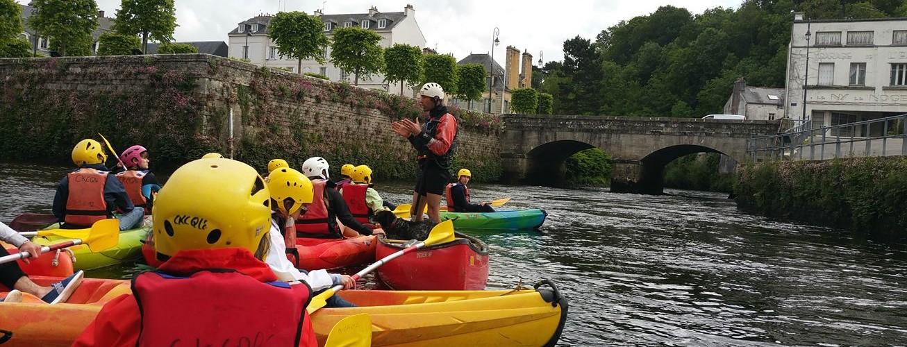 visite Quimperlé kayak MaCornouaille