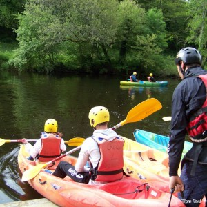Quimperlé en kayak MaCornouaille