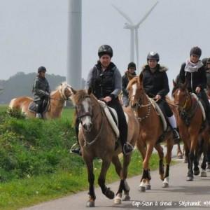 Cap-Sizun à cheval MaCornouaille