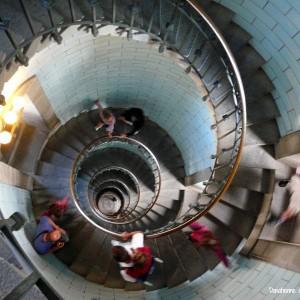 Escaliers du Phare d'Eckmühl MaCornouaille