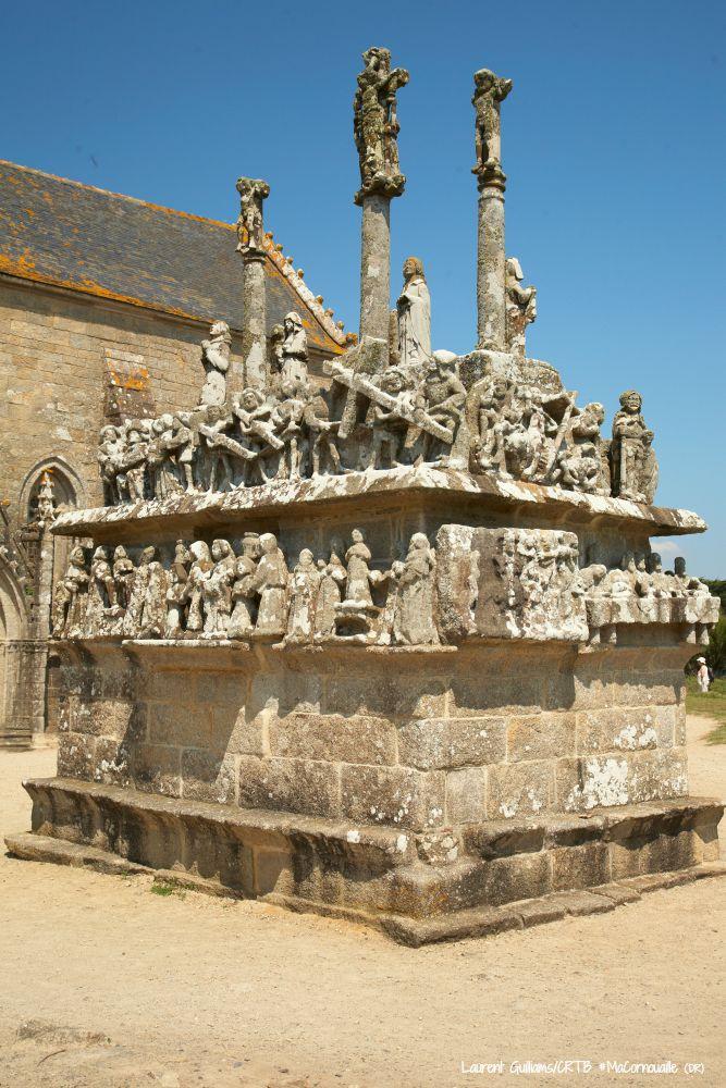 Calvaire Notre-Dame-de-Tronoen a Saint-Jean-Trolimon, Ouest Cornouaille