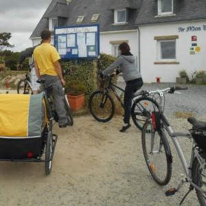 Balade à vélo à Névez Ma Cornouaille