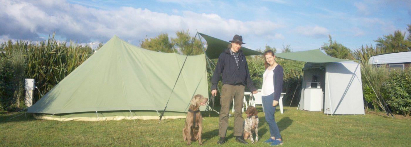 Le camping si facile que tu peux laisser ton sac à dos à la maison