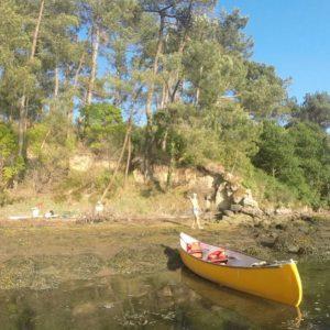 Descendre l'Aven en kayak au coucher du soleil