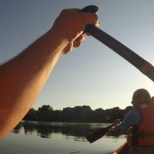 kayak sur l'Aven
