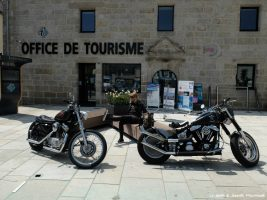 Escapade à moto en Cornouaille