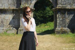 On a découvert l'Abbaye grâce à l'audioguide