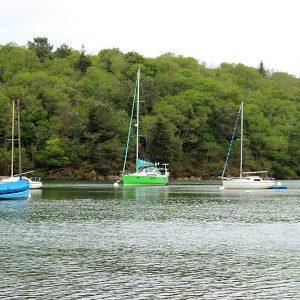 Le charme de Porz Meillou, un petit port de rivière