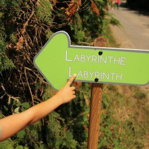 Le labyrinthe de Pont-Aven, se perdre n'a jamais été aussi amusant