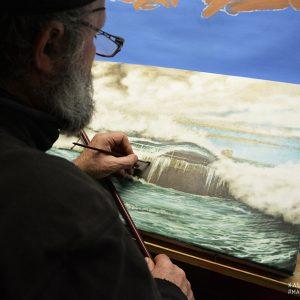 Un artiste engagé à Sein, rencontre avec Didier-Marie Le Bihan
