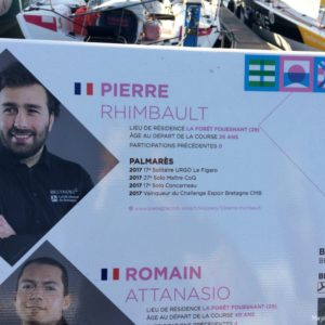 Transat AG2R La Mondiale : à bord de Team Bretagne CMB Espoir
