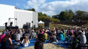 Bénévole au Festival des Rias