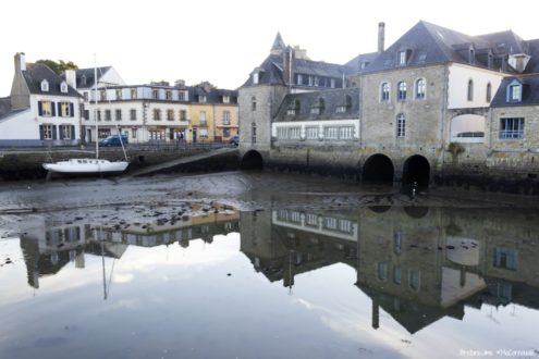 Pont habité de Pont-l'Abbé
